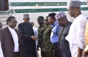 President Buhari Arrives Nigeria from Medical Vacation in London 00