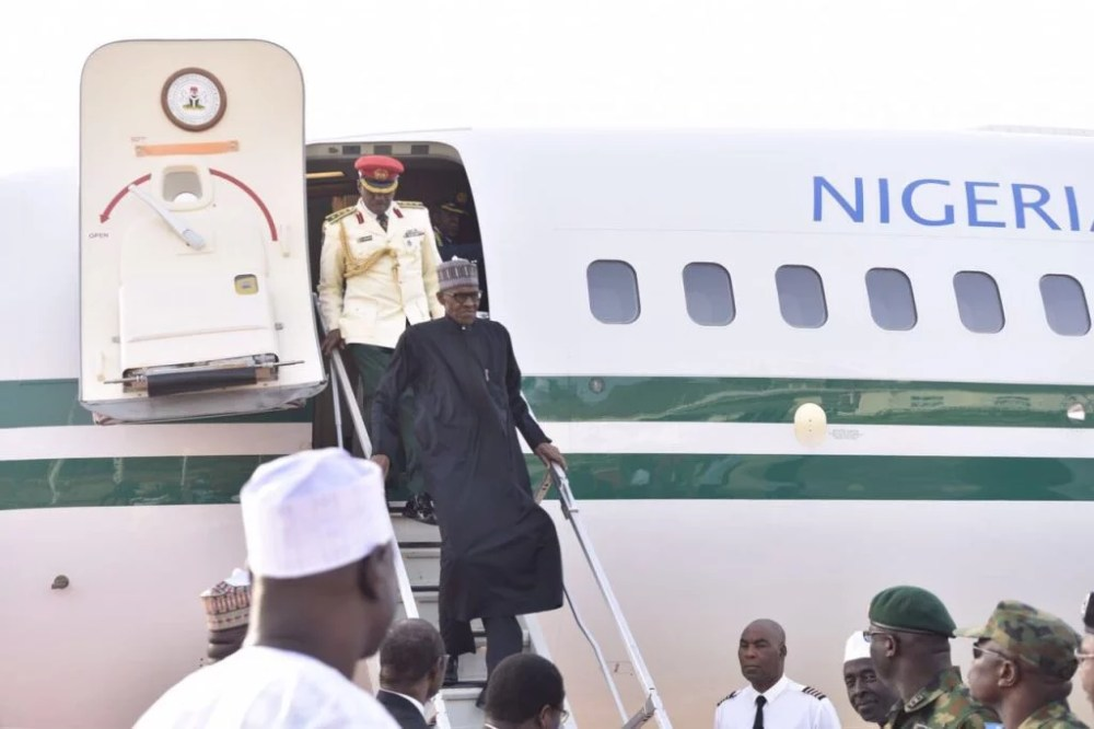 President Buhari Arrives Nigeria from Medical Vacation in London 01