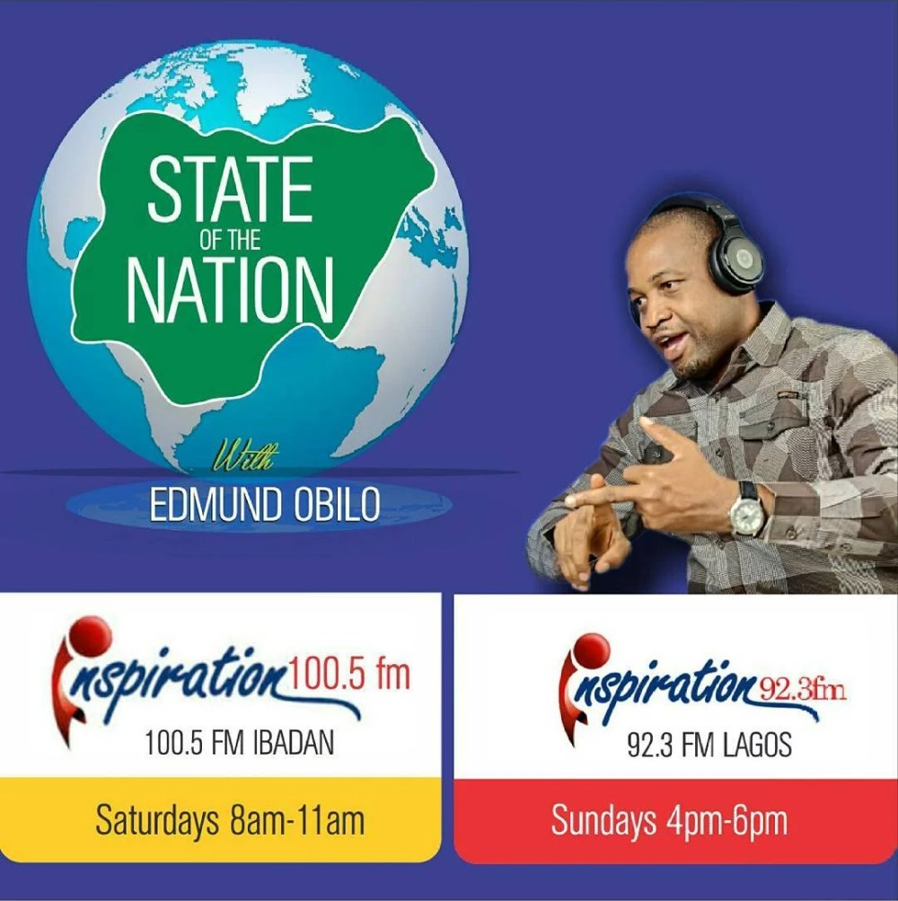 Edmund Obilo State of the Nation Program