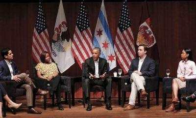 Barrrack Obama Public Speech Since Leaving