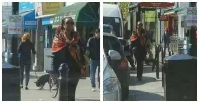 Diezani Alison-Madueke Walking Freely in UK