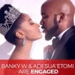 They Thought They are Coded… But Here are 9 Times We Know that Banky W & Adesua Etomi were in a Relationship