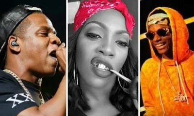 Jay Z, Tiwa Savage and Wizkid