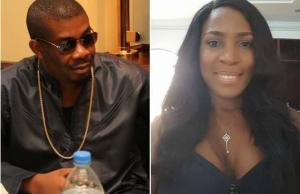 Linda Ikeji and Don Jazzy