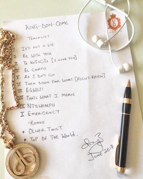 Dbanj King Don Come Album