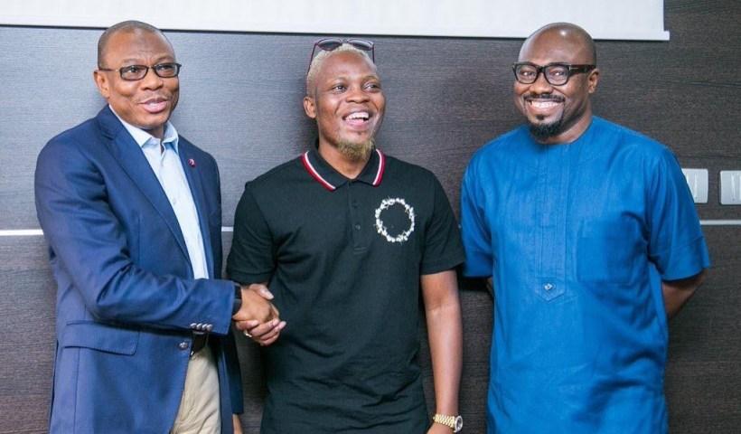 Olamide as Sterling Bank Ambassador