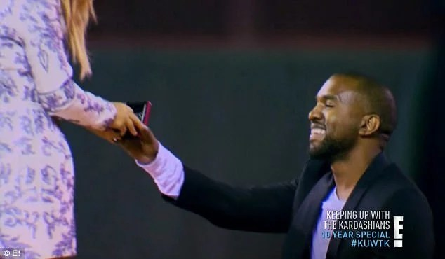 Kanye West Proposed to Kim Kardashian