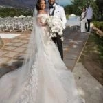 #BAAD2017 : 12 Moments from Banky W & Adesua Etomi White Wedding that Will Make Dream of Getting Married Tomorrow