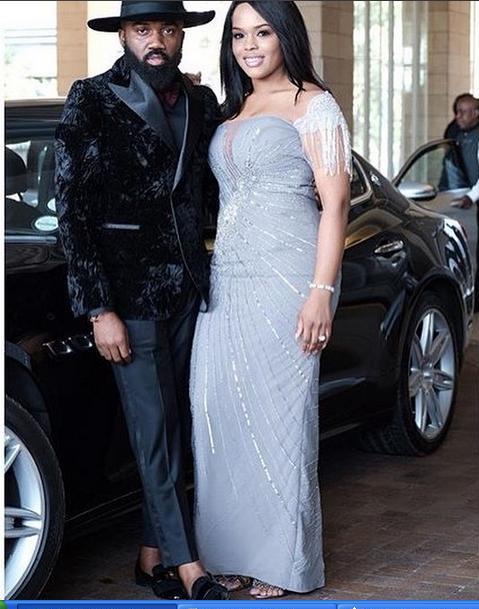 Banky W White Wedding in SA