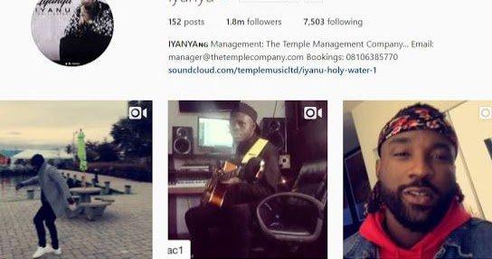 Iyanya Part Ways with Mavin Records