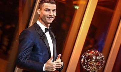 Cristiano Ronaldo Wins Ballon d'or 2017 00
