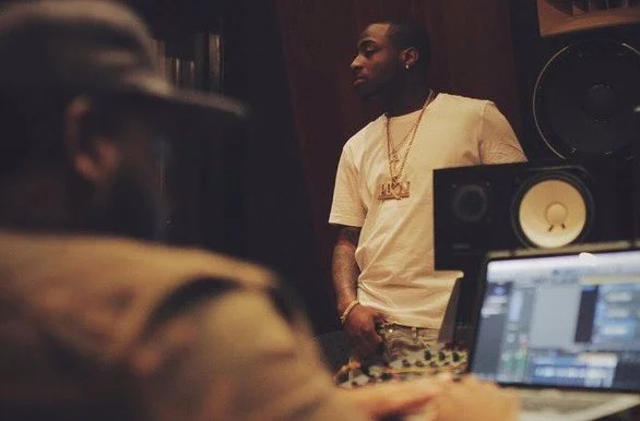 Davido in Studio