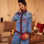Toke Makinwa Rocks N1.1M Gucci Floral Silk Pajama to Event