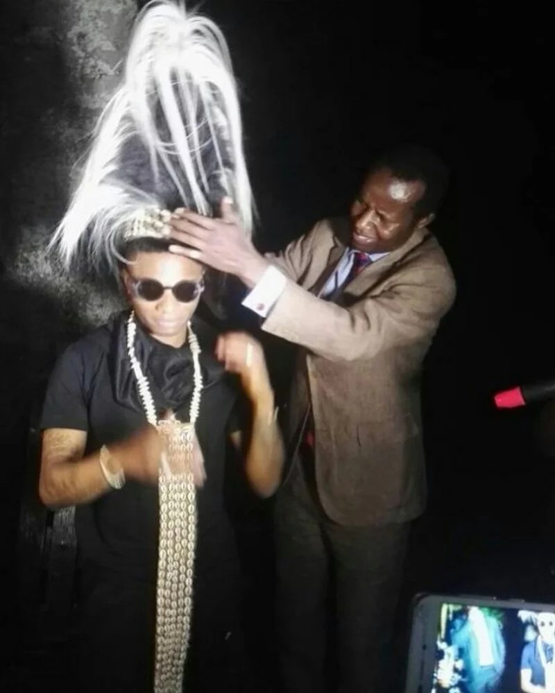 Wizkid Honored With A Chieftaincy 00
