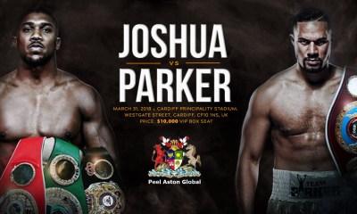 Anthony Joshua and Joseph Parker Fight