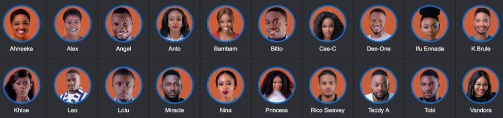 Big Brother Naija 2018 Housemates 00