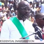 George Weah Sworn In As Liberia President