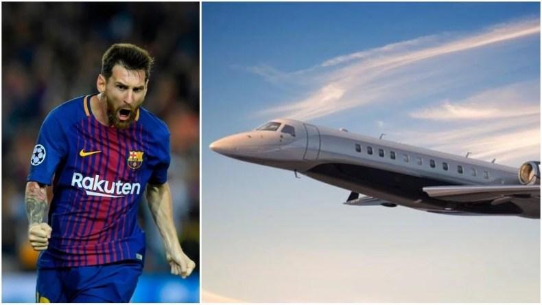 Lionel Messi Private Jet