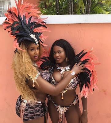 DJ Cuppy and Farida Folawiyo