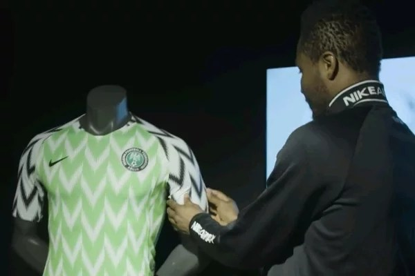 Super Eagles New Jersey 03