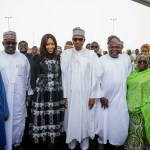 Who's Lying Between Naomi Campbell & Presidency? Get All The Scoop About President Buhari & Naomi Campbell Meet-Up In Lagos