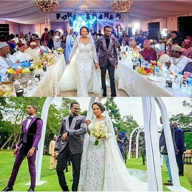 Gov Ajimobi Son Weds Gov Ganduje Daughter in Ibadan 01 (2)
