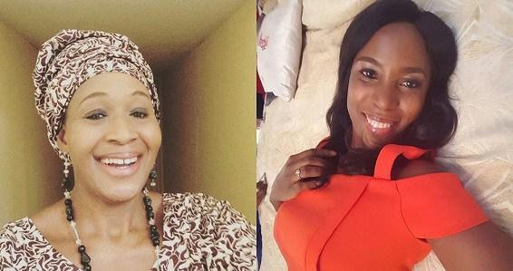 Kemi Olunloyo and Linda Ikeji