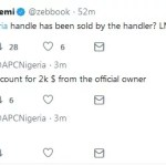 Nigeria Politics Is Getting Interesting As APC Official Twitter Account Got Hacked