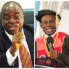 Bishop Oyedepoe and Bishop Adjeman
