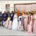 Photos From DJ Caise White Wedding With Donald Duke's Daughter Xerona Duke