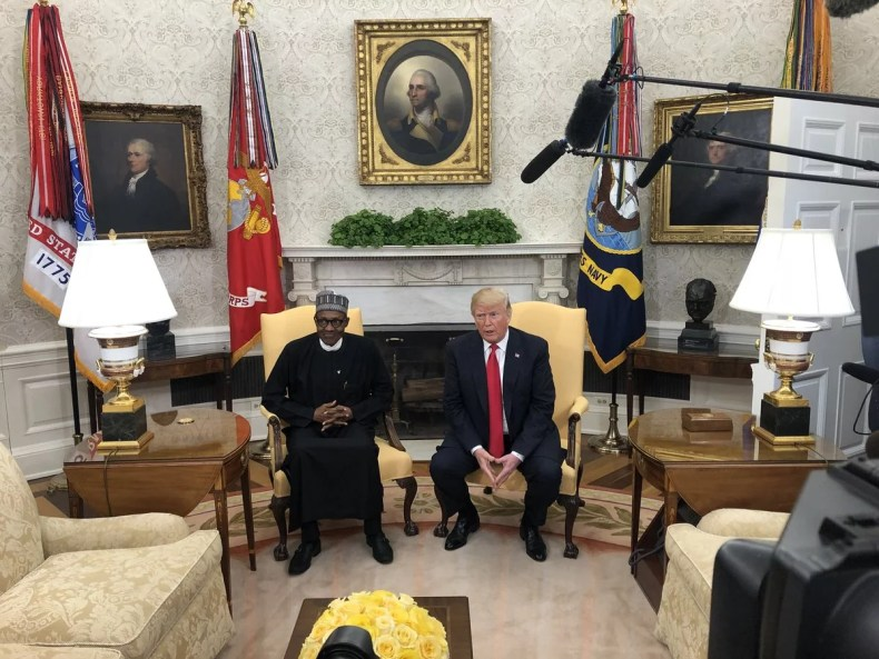 Donald Trump and President Buhari 00