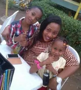 Aisha Abimbola and children