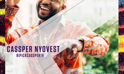 Cassper Nyovest BET Nomination