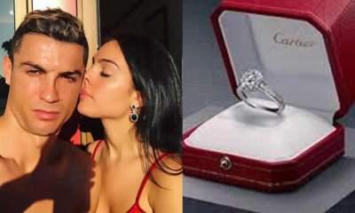 Cristiano Ronaldo and girlfriend, Georgina Rodriguez
