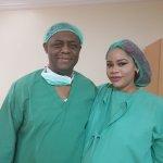 Former Aviation Minister Femi Fani-Kayode & Wife Precious Welcome Triplets