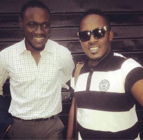 Obinna Agwu and M I Abaga