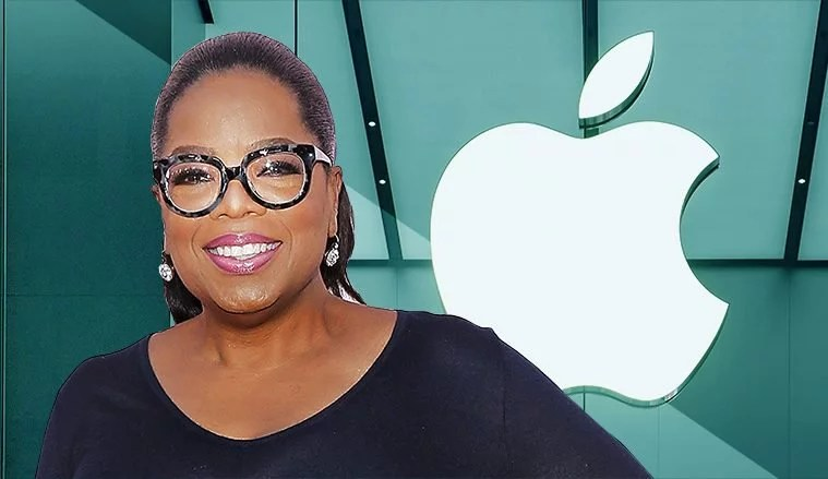 Oprah Winfrey and Apple