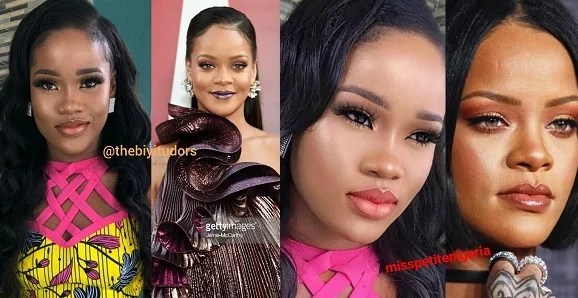 Rihanna and Cee-C
