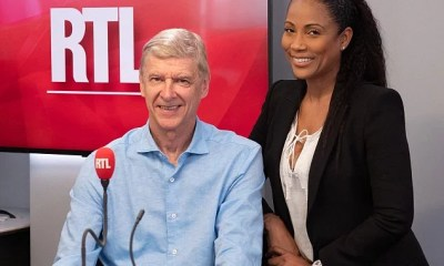 Arsene Wenger and Christine Kelly