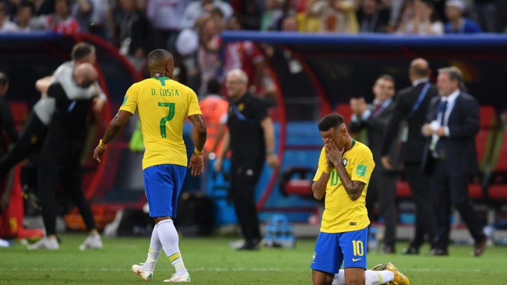 Brazil Out of World Cup