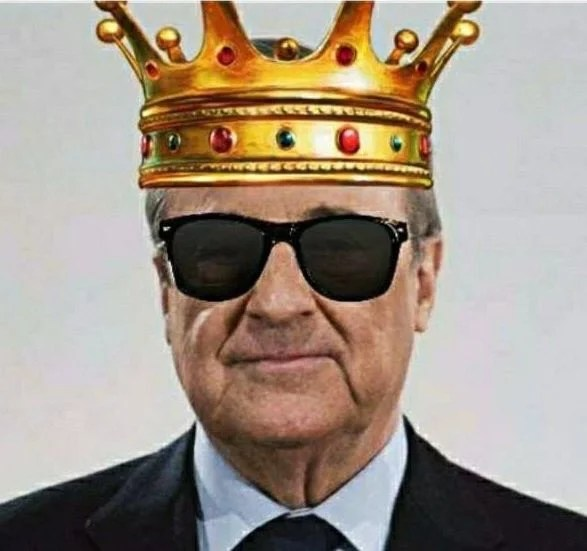 King Florentino Pérez