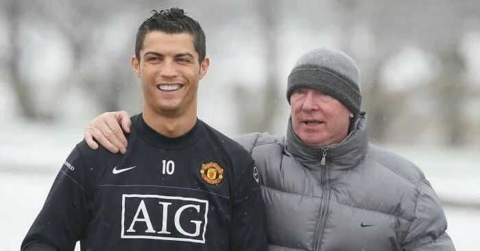 Ronaldo and Ferguson