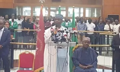 Bukola Saraki World Press Conference