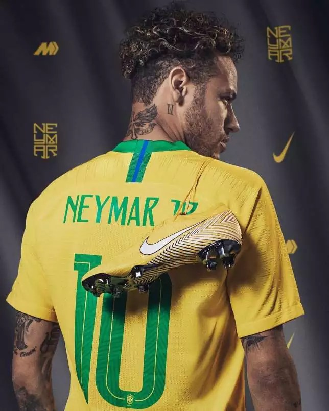 Neymar Second Paid Footballer On Instagram