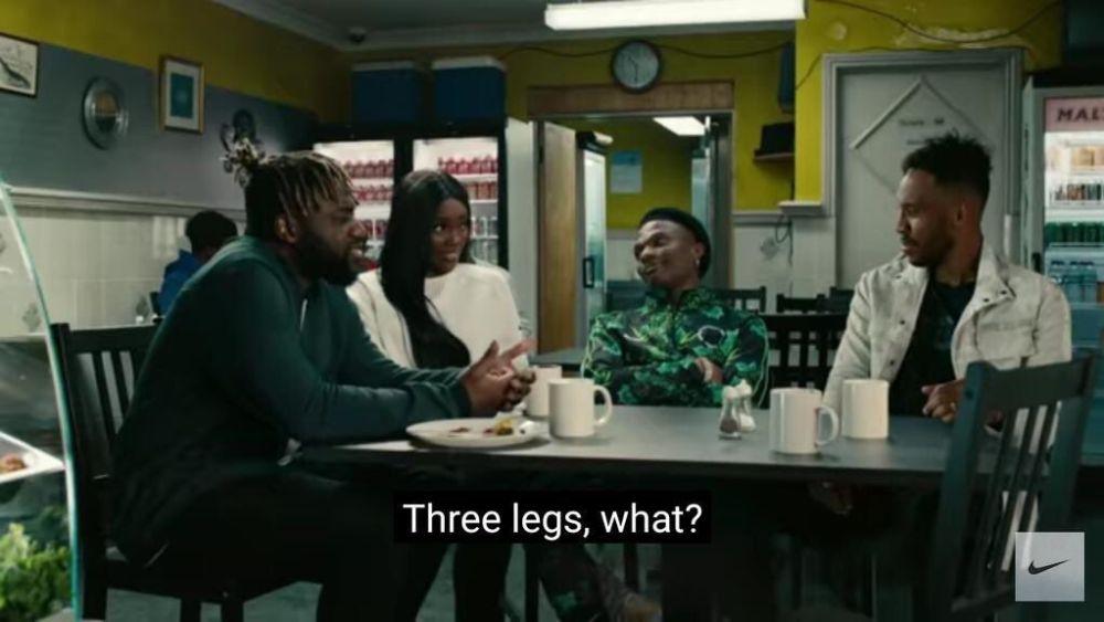 Wizkid Featured On Nike Advert