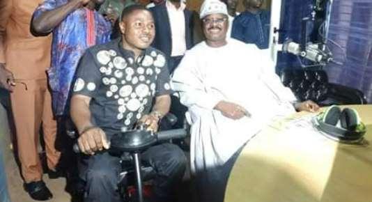 Yinka Ayefele and Abiola Ajimobi