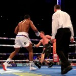 Anthony Joshua Continues His 22nd Heaven Wins, As He Brutally Beat Alexander Povetkin In The 7th Round
