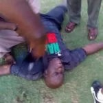 Photo News: Shooting Stars Coach Collapses After Being Punched By Player