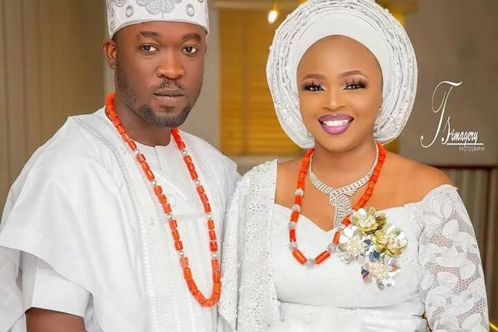 Biola and Gbemi Weds In Ibadan 13