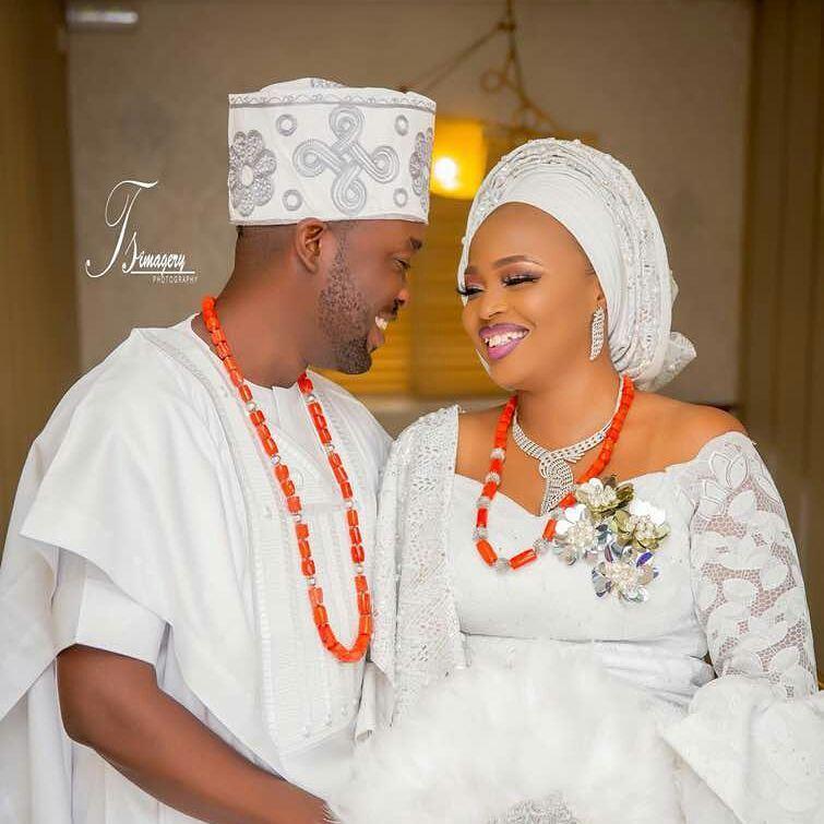 Biola and Gbemi Weds In Ibadan 14